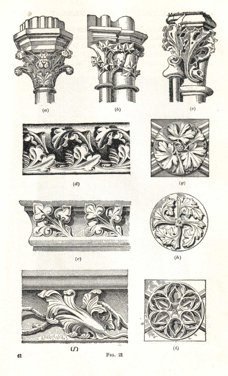 French Gothic Ornament | Inspiration and different ideas ...