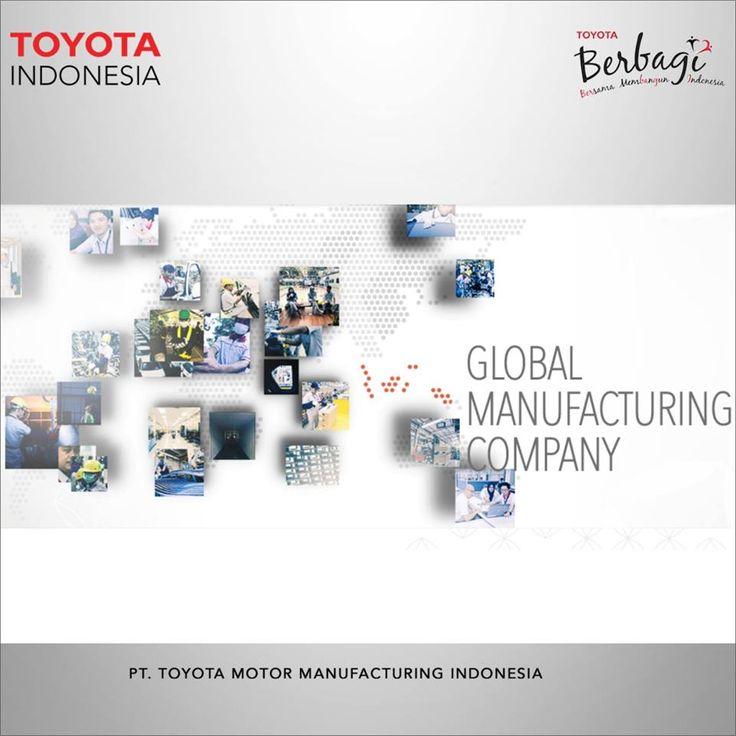 TMMIN, sebagai perusahaan manufaktur berkelas dunia, berkomitmen untuk menghasilkan produk dengan kualitas terbaik yang berfokus pada kepuasan pelanggan. Selain untuk memenuhi permintaan pelanggan domestik, TMMIN juga mengekspor produknya ke lebih dari 70 negara di seluruh dunia. #TMMINspirasi