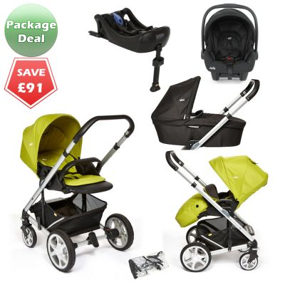 Buy Joie Chrome Plus Travel System Green online at the best price. UK & ROI delivery. Payment plans available. Baby pram store in Belfast. New colour - GREEN.