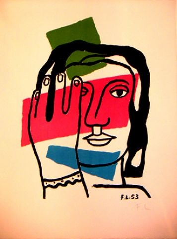 Fernand Leger what id i do a self portrait like this?