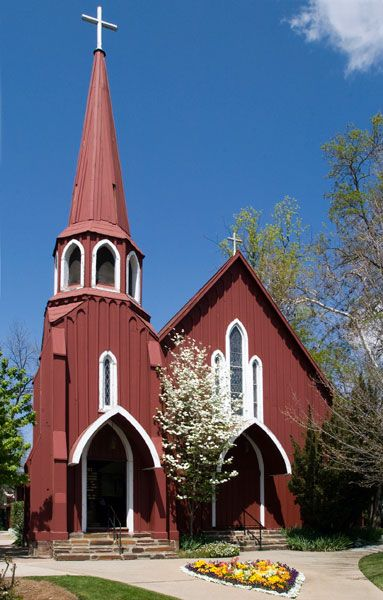 The seventh parish of the Protestant Episcopal Church in Sonora, California, St. James is the oldest Episcopal Church building in the state. The first services were held in the church on October 4, 1859, and it was consecrated by Rt. Rev. Wm. Ingraham Kip in 1870.