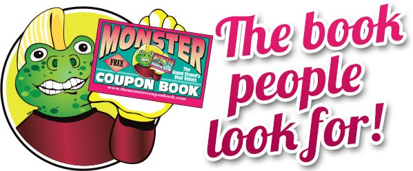 Monster coupons book for myrtle beach