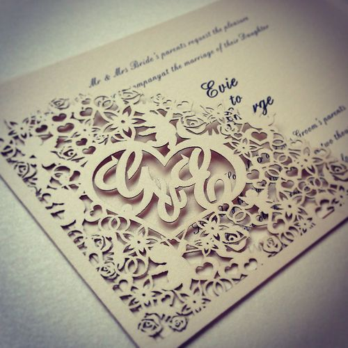 1000 images about Wedding cards – Blank Pocket Wedding Invitations