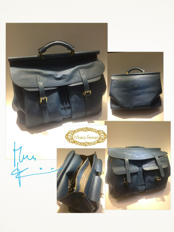 """""""WORK'S BAG"""" by Marco Ferriani   New Collection 2014 www.marcoferrianiborse.net"""
