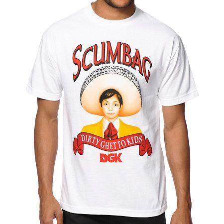 NEW Scumbag shirts in! | DGK Sauce Tee Shirt