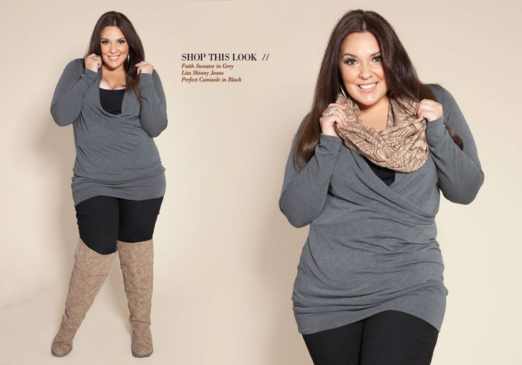 Plus size clothes on Pinterest | Plus size, Plus Size Fashion and ...