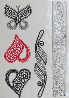 bobbin lace patterns free - Hledat Googlem                                                                                                                                                                                 More