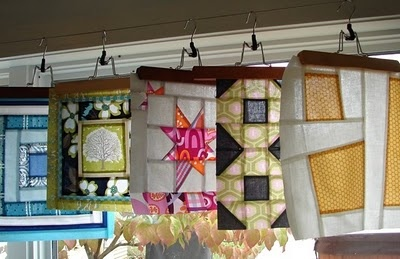 Modern Quilt Blocks: Fantastic Ideas, Shops Ideas, Display Ideas, Great Ideas, Quilts Bees