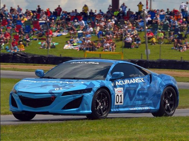 Acura Shows off NSX Prototype at Mid-Ohio Sports Car Course | Geeky Gadgets