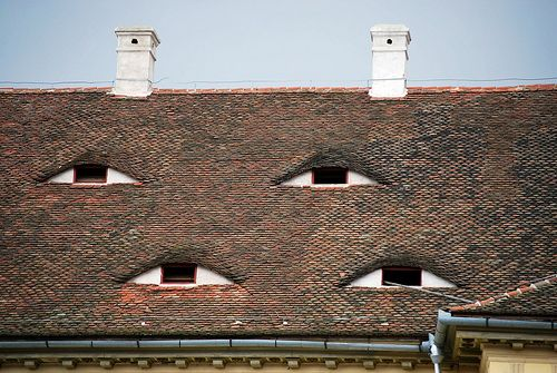 Eyes Of The Roof - Sibiu,Transilvania, Romania