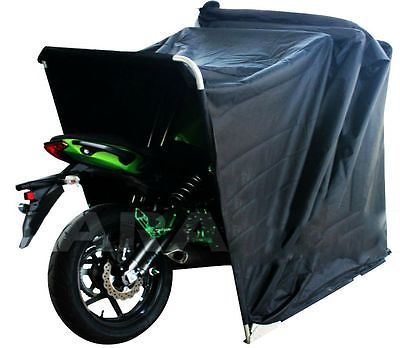MOTORBIKE BIKE BARN FOLDING COVER FRAME TENT WATERPROOF SHELTER SCOOTER STORAGE