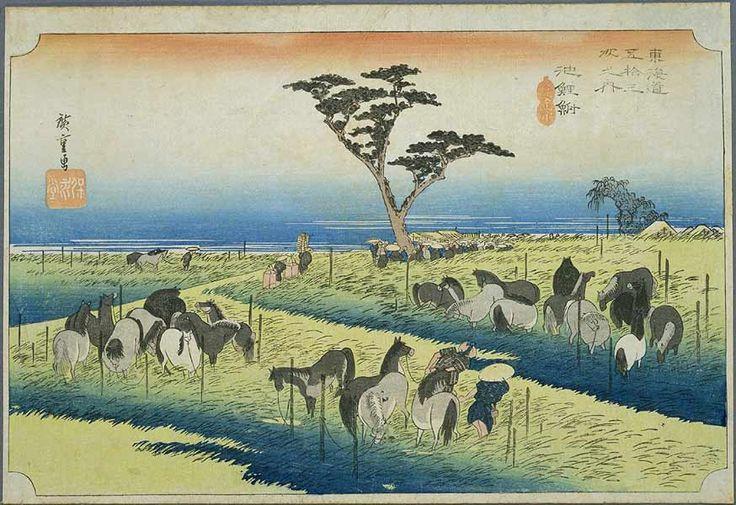 Tokaido39 Chiryu - 東海道五十三次 (浮世絵) - Wikipedia