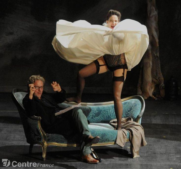 marie gillain la venus à la fourrure | Marie Gillain et Nicolas Briançon. - fr d ric rimbert