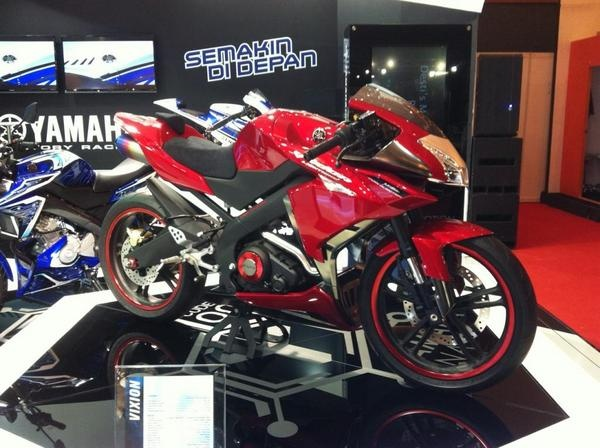 Yamaha New Vixion Modification
