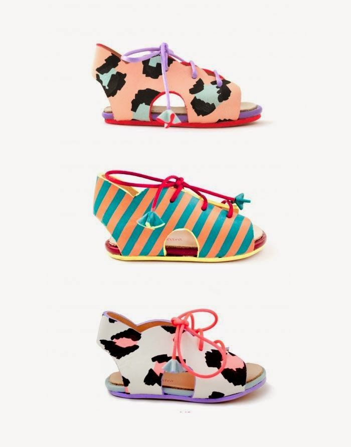 Zomooi: The coolest baby sandals! Beeld Sophia Webster kinderschoenen gevonden via #Chloe Fleury