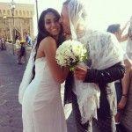 Francesca Cioffi del Gf13 si è sposata, Mia Cellini damigella d'onore