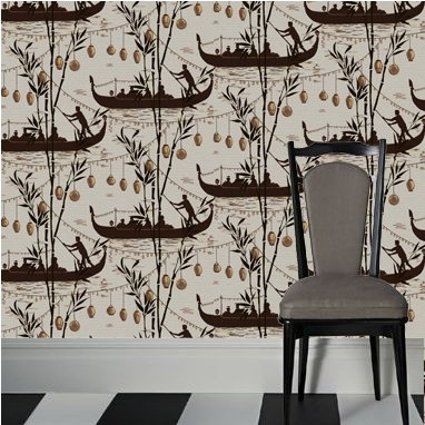 Cole and Son Frontier Gondola Wallpaper for 2nd flr