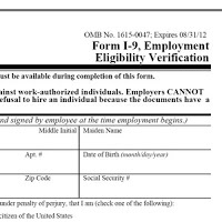 FORM 1-9: Parents must complete the U.S. Citizenship and Immigration Services (USCIS) Form I-9, Employment Eligibility Verification. Parents must complete the employer section by examining the documents presented by the nanny as evidence of their identity and employment eligibility. Some documents parents will need to photocopy may include: a social security card, U.S, passport, driver's license, or Alien Registration Receipt Card.  www.uscis.gov
