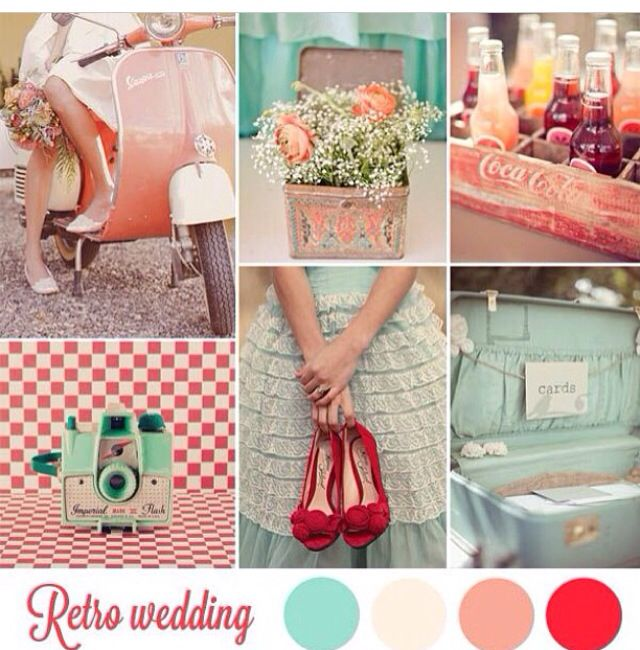 Summer Wedding Color Palette..love it!! Also probably too girly..