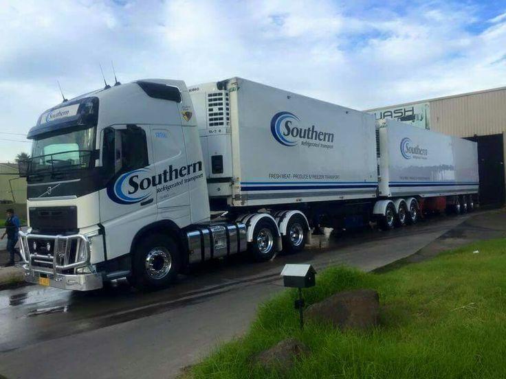 Probably an australian volvo bdouble aussie truck