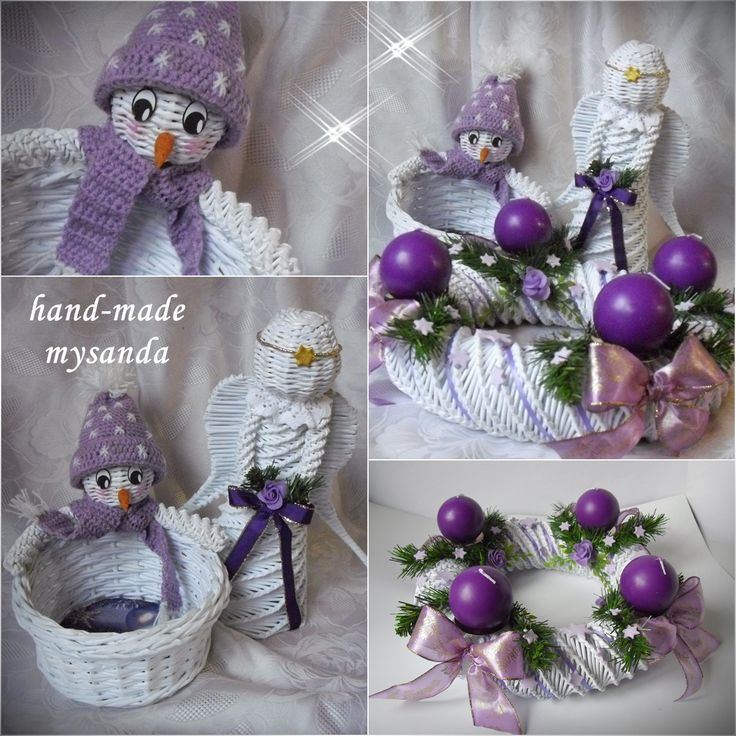 moje tvořeníčko - Fotoalbum - PLETENÍ Z PAPÍRU 2012 - vánoce 2012