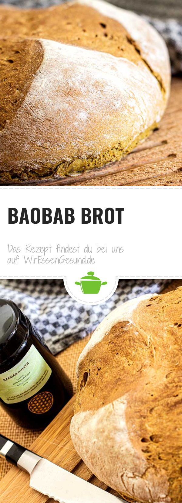 Baobab Brot Wiressengesund Rezept Rezepte Lebensmittel Essen Vegane Rezepte