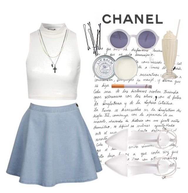 """Chanel"" by amoiblog ❤ liked on Polyvore featuring Jane Norman, Zara, Chanel, BOBBY, Jack Wills and ASOS"