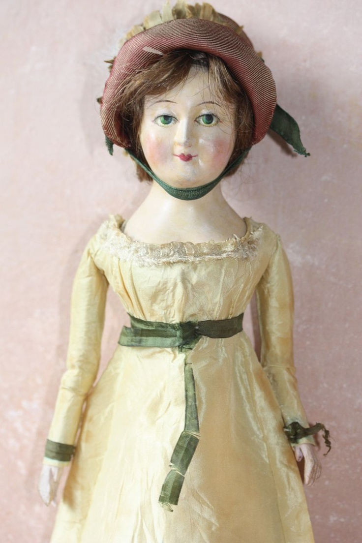 Antique Early 19th Century French Carton Or Paper Mache
