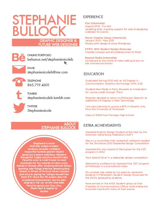 The 45 best Resume ideas images on Pinterest Resume design, Resume