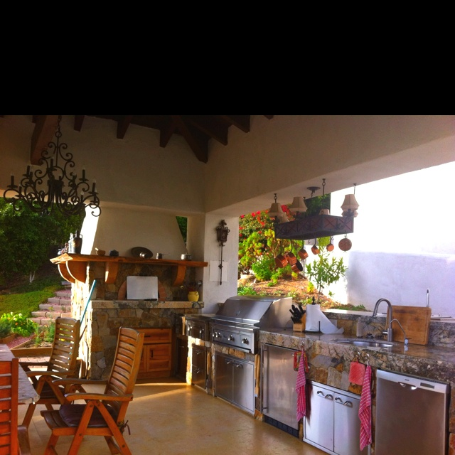 Beautiful, Outdoor Kitchens And Outdoor
