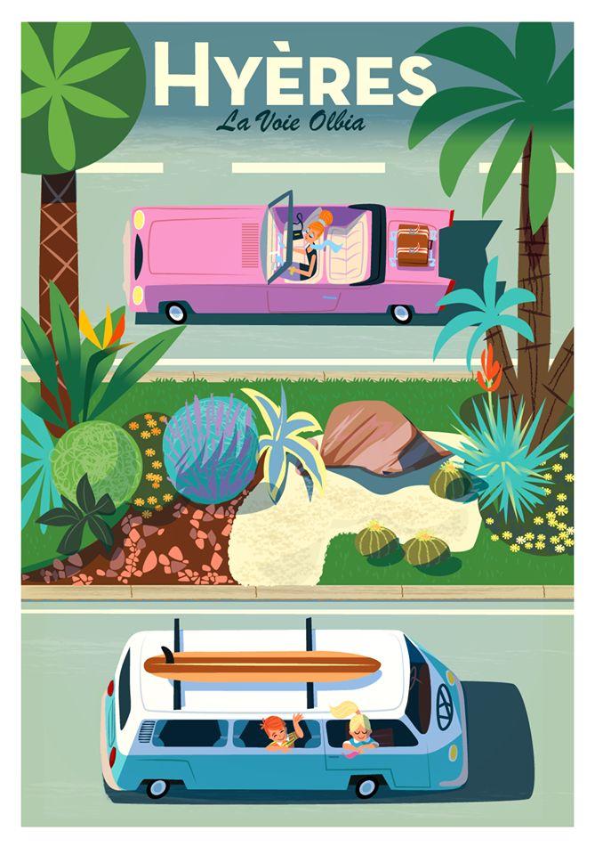 Monsieur.Z #travel #poster