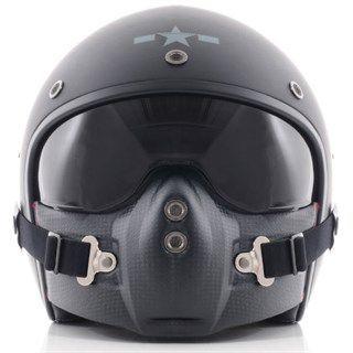 Aviator Motorcycle Helmet  Helmets  Cool motorcycle helmets, Motorcycle helmets, Helmet