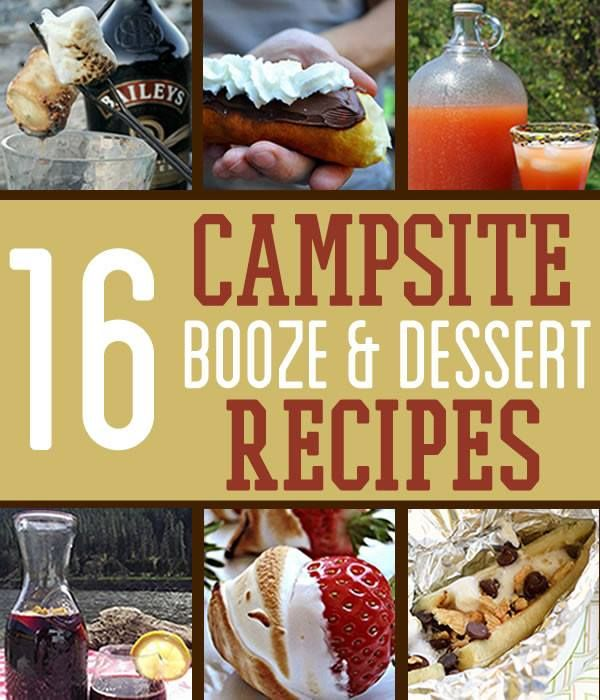 Camping Desserts and Cocktails… And We're Not Talking Molotov - Survival Life - Survival Life