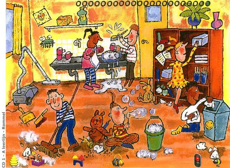 Schoonmaken en opruimen