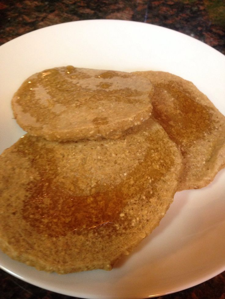 Beth's Gerson-friendly oat pancakes... Easy & delish! Here's my Snapguide to making them.