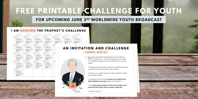 picture about President Nelson Challenge Printable called Pin upon church