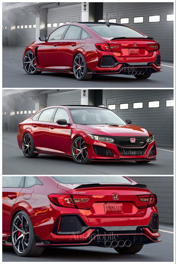 Honda Accord Type R Sedan How It Could Easily Happen Honda Accord Sport Honda Accord Honda Accord Custom