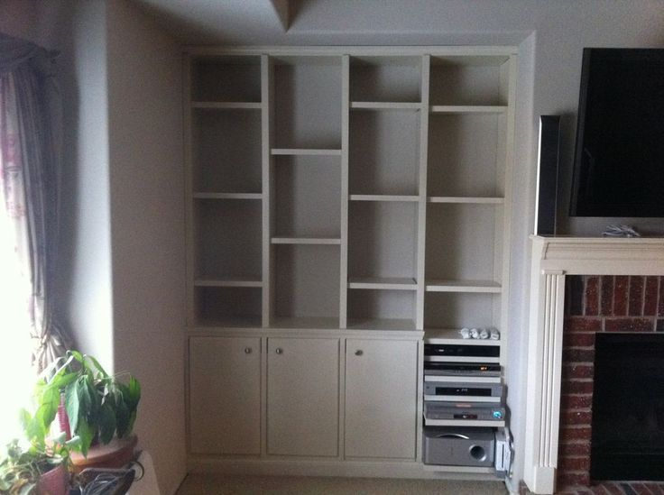 How To Build Built In Bookcases Design ~ http://lovelybuilding.com/ - 28 Best Build Built In Bookcases Images On Pinterest
