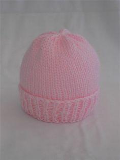 Free Pattern..Sea Trail Grandmas: Easy Newborn Hat Knitting Pattern