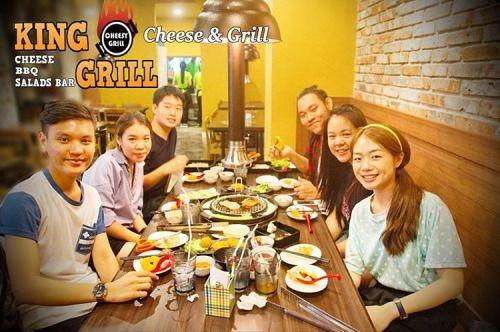 Phone# 098- 274-8246 치즈 바베큐 레스토랑 Cheesy Korean BBQ Restaurant, King Grill, Samyan, Bangkok, Thailand #Cheese #Cheesy #Korean #BBQ #Buffet #Restaurant #Kinggrill #chula #impark #Samyan #Bangkok #Thailand