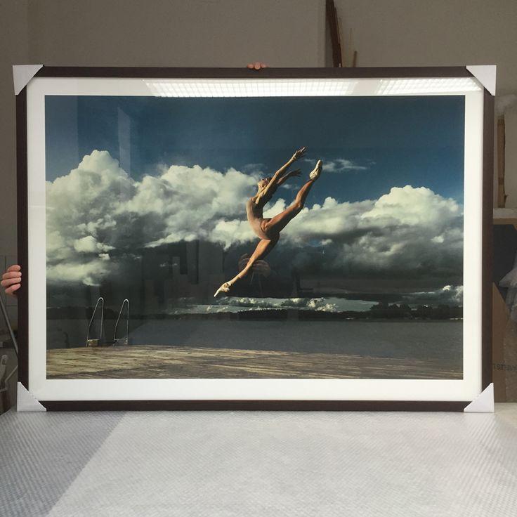 ballerina at Lagnö Nr.1 140cm x 100 Limeted edition of 10. maxmadegallery.com