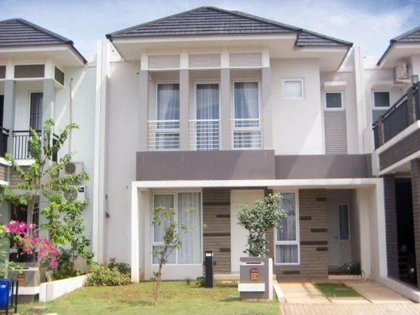 gaya rumah minimalis 2 lantai type 36