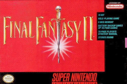 Final Fantasy IV released in the West as Final Fantasy II SNES by Square