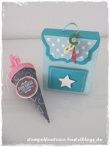 Stampin Up_Verpackung_Schulranzen_Rucksack_Back Pack_Einschulung_Punch Board Gift Bag_Schultuete_Stempelfantasie_1