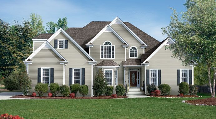 Sequoia select vinyl siding available in double 4 for What is 1 square of vinyl siding