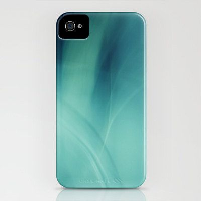iPhone Case  5 4 4s 3g 3gs - Underwater Deep Blue Sea - turquoise , by SYoungPhotography,