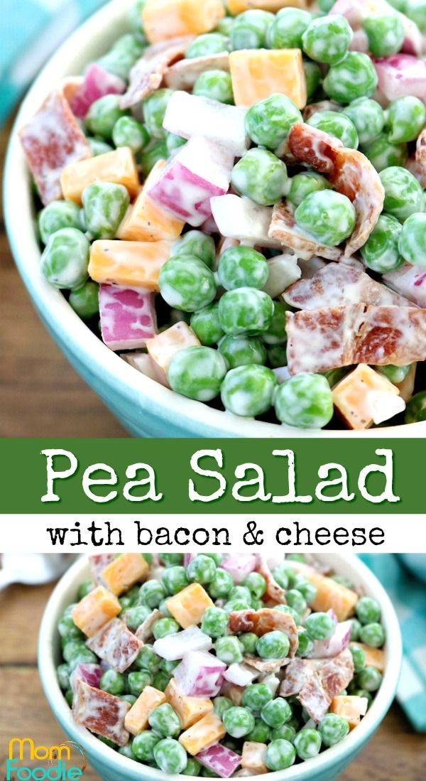pea salad with bacon vegetable recipes in 2019 recipes salad rh pinterest com
