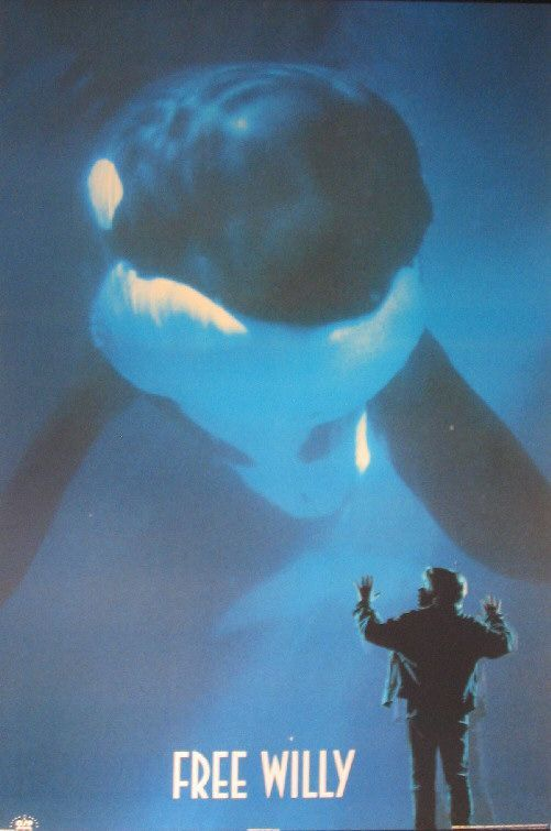 Free Willy Movie Poster - http://www.impawards.com/1993/free_willy_ver2.html#