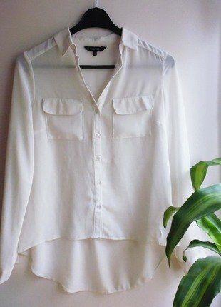 Kup mój przedmiot na #vintedpl http://www.vinted.pl/damska-odziez/koszule/17283636-koszula-s-kieszenie-ecru-kremowa-new-look-guziki