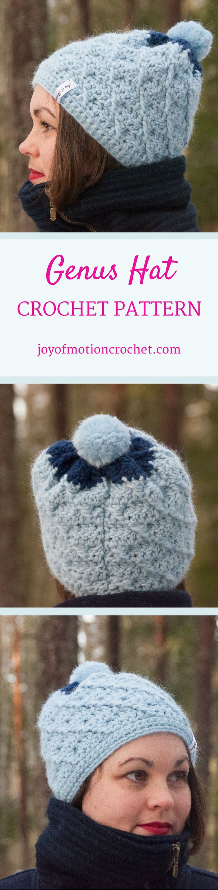 Genus Hat Crochet Pattern | Craftsy